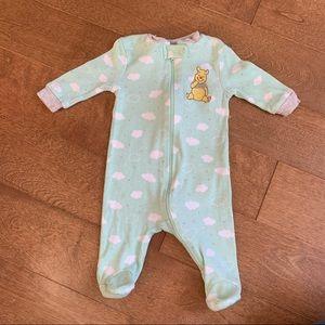 3/$10 DISNEY Baby unisex footie pyjama 0-3m